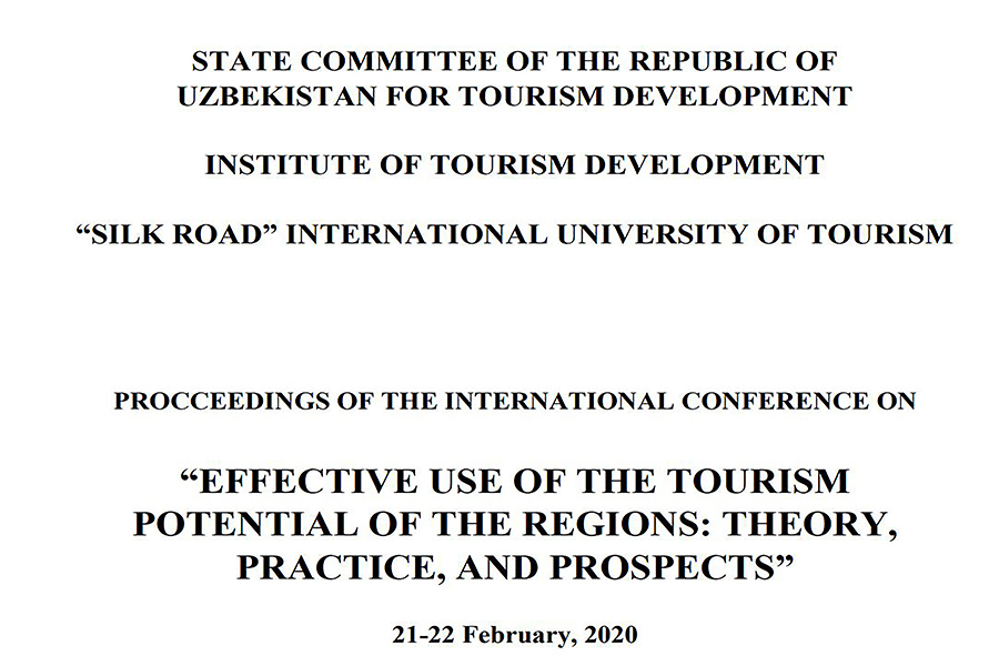 """EFFECTIVE USE OF THE TOURISM POTENTIAL OF THE REGIONS: THEORY, PRACTICE, AND PROSPECTS"""